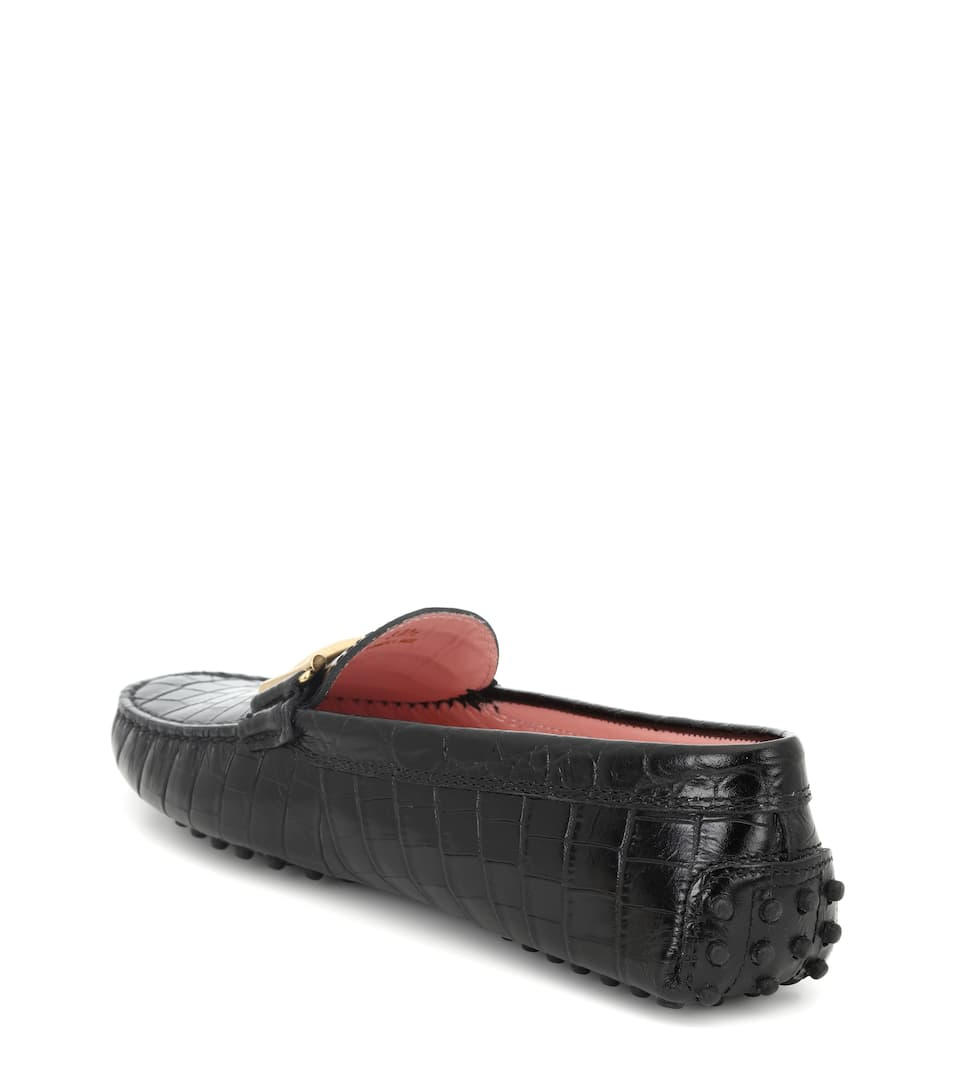 Tod's Mokassins Gommino aus Lackleder
