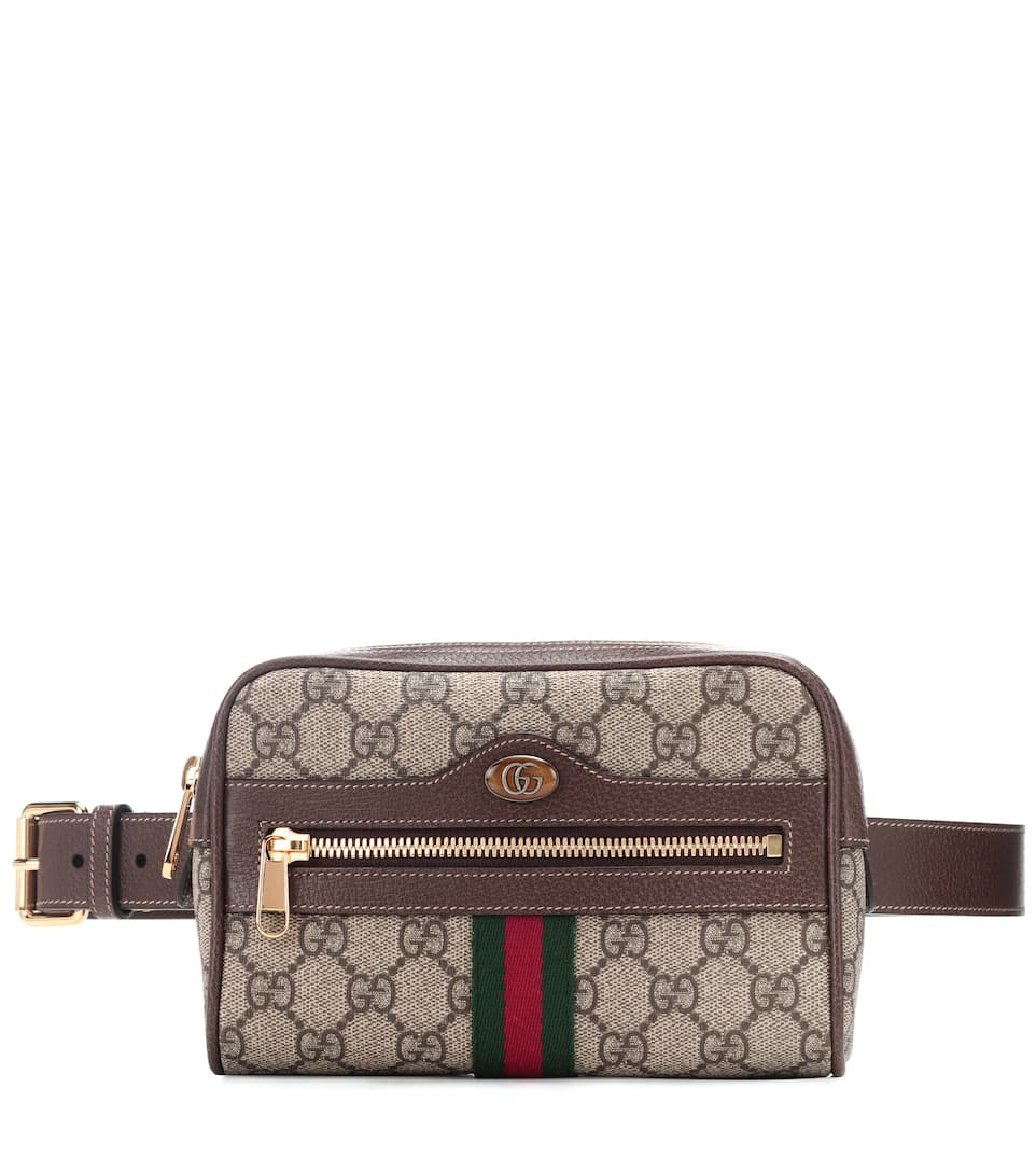 84d1a1a2265 Ophidia Gg Supreme Small Belt Bag - Gucci | mytheresa