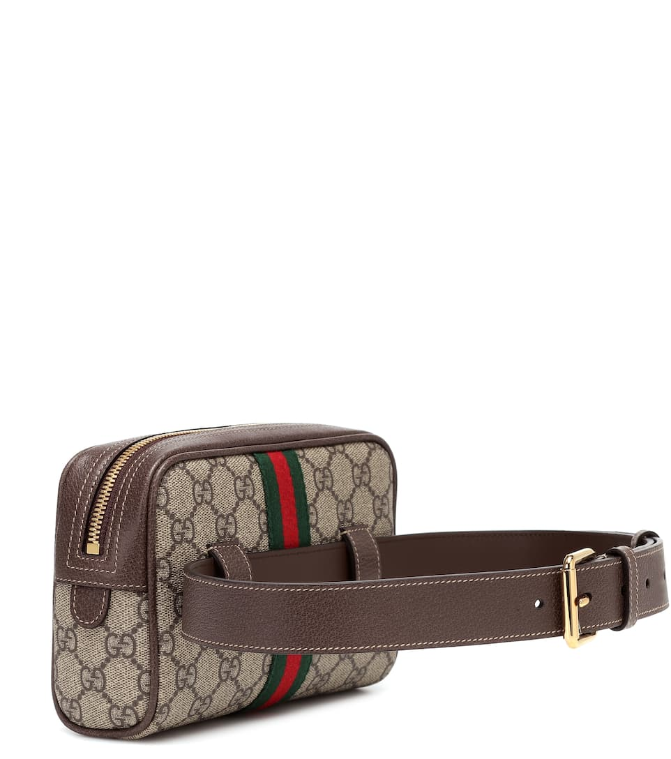 33775ee7483 Ophidia GG Supreme Small belt bag. Runway. Gucci