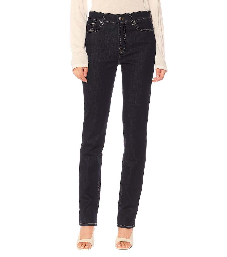 The À Taille 7 For N° All MankindJean Haute Straight Artnbsp;p00398213 Droit OXwkN8n0PZ