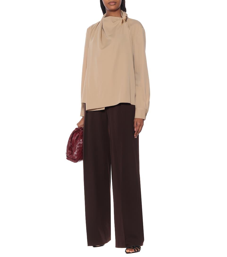 Wool Gabardine Shirt - Bottega Veneta