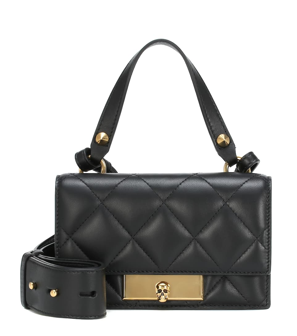 Quilted Leather Tote Alexander