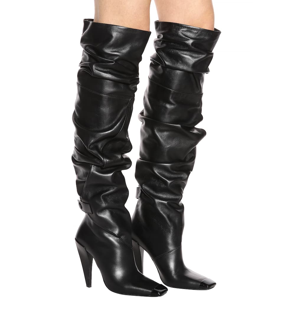 Tom Ford Overknee-Stiefel aus Leder