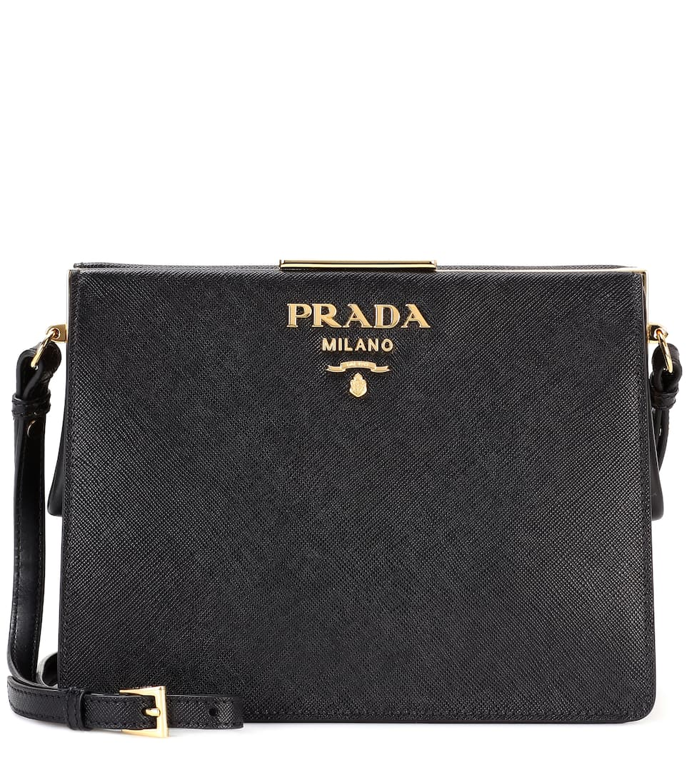 Saffiano leather shoulder bag Prada F0d5CF9