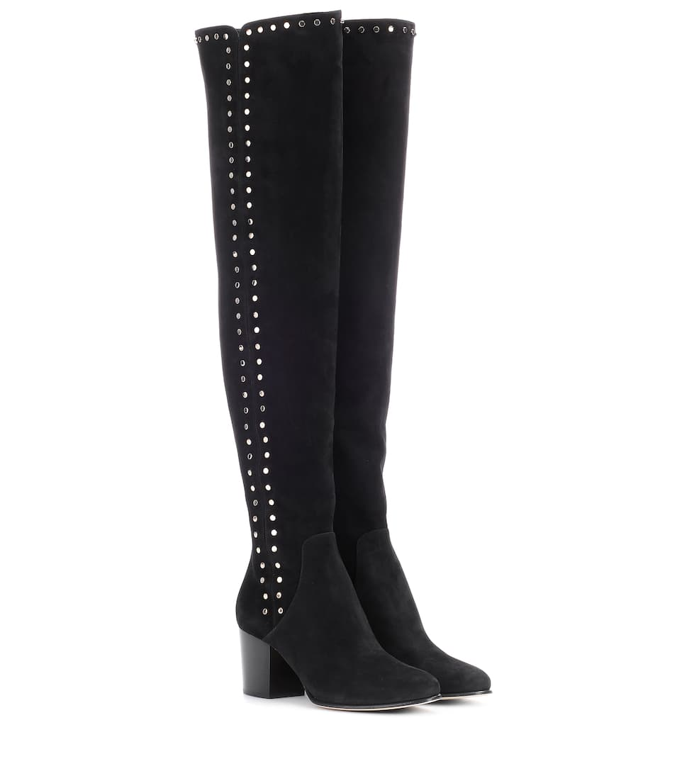 b4730144e7d Harlem 65 Suede Over-The-Knee Boots