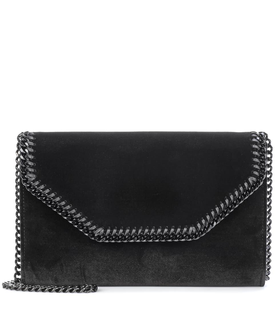 Falabella Velvet Shoulder Bag - Stella McCartney  440a506c76561