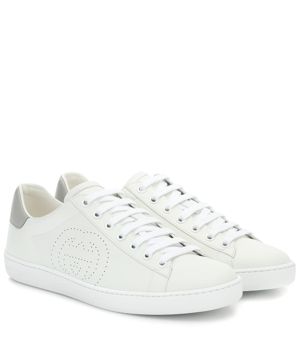 gucci wedge trainers