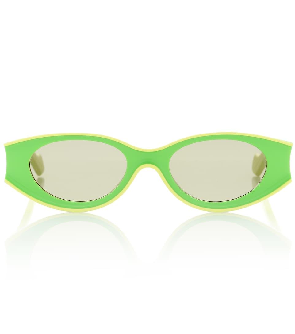 Neon Acetate Sunglasses