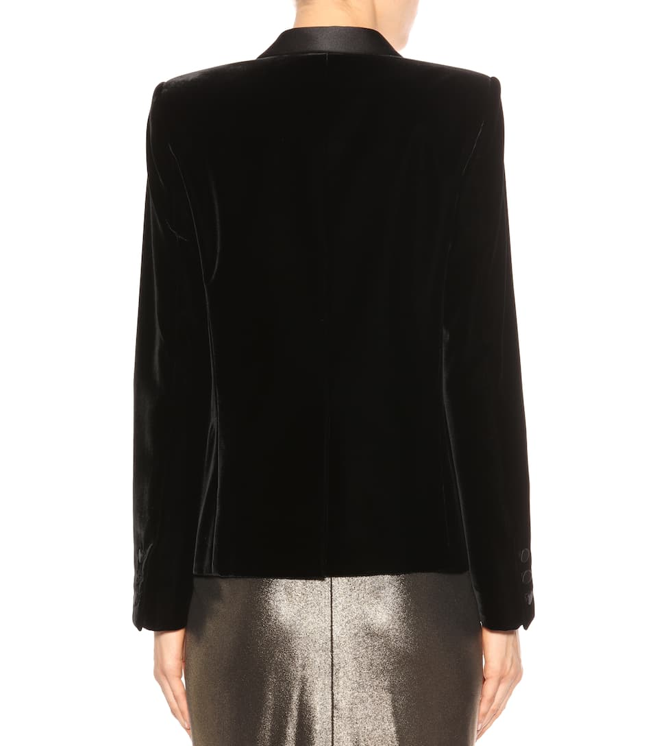 Saint Laurent Blazer aus Samt