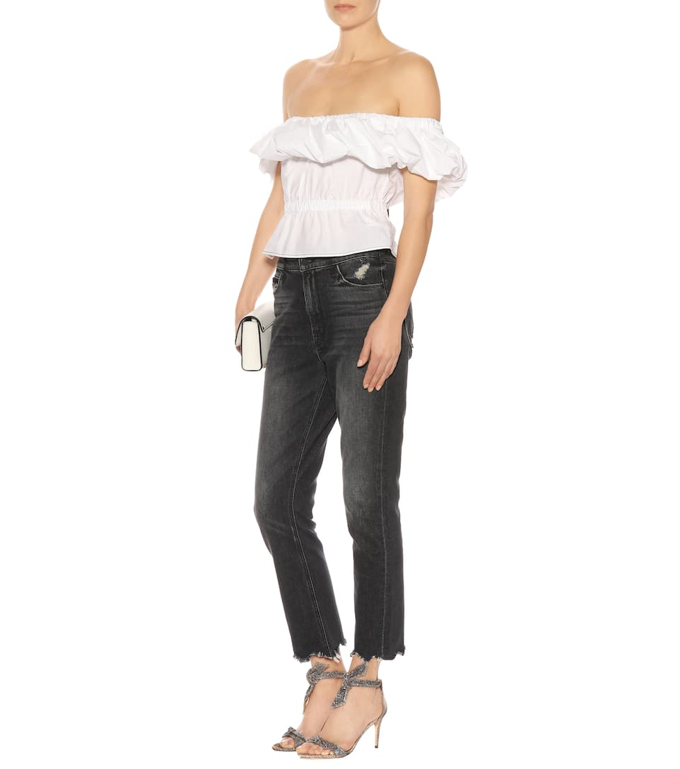 Rejina Pyo Off-Shoulder-Top Mina aus Baumwolle