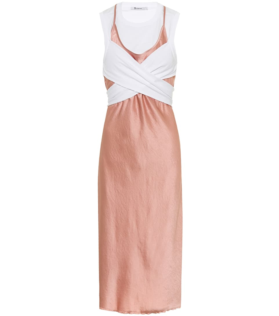Wash & Go Slip Dress by T By Alexander Wang