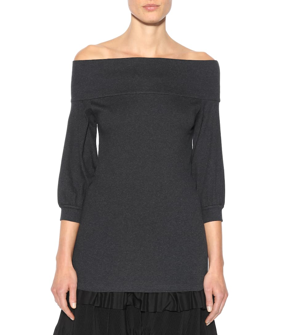 Brunello Cucinelli Off-shoulder Pullover