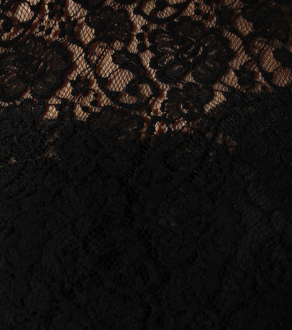 N° GabbanaTop Artnbsp;p00353601 En Stretch Dolceamp; Dentelle 0NywvmOP8n