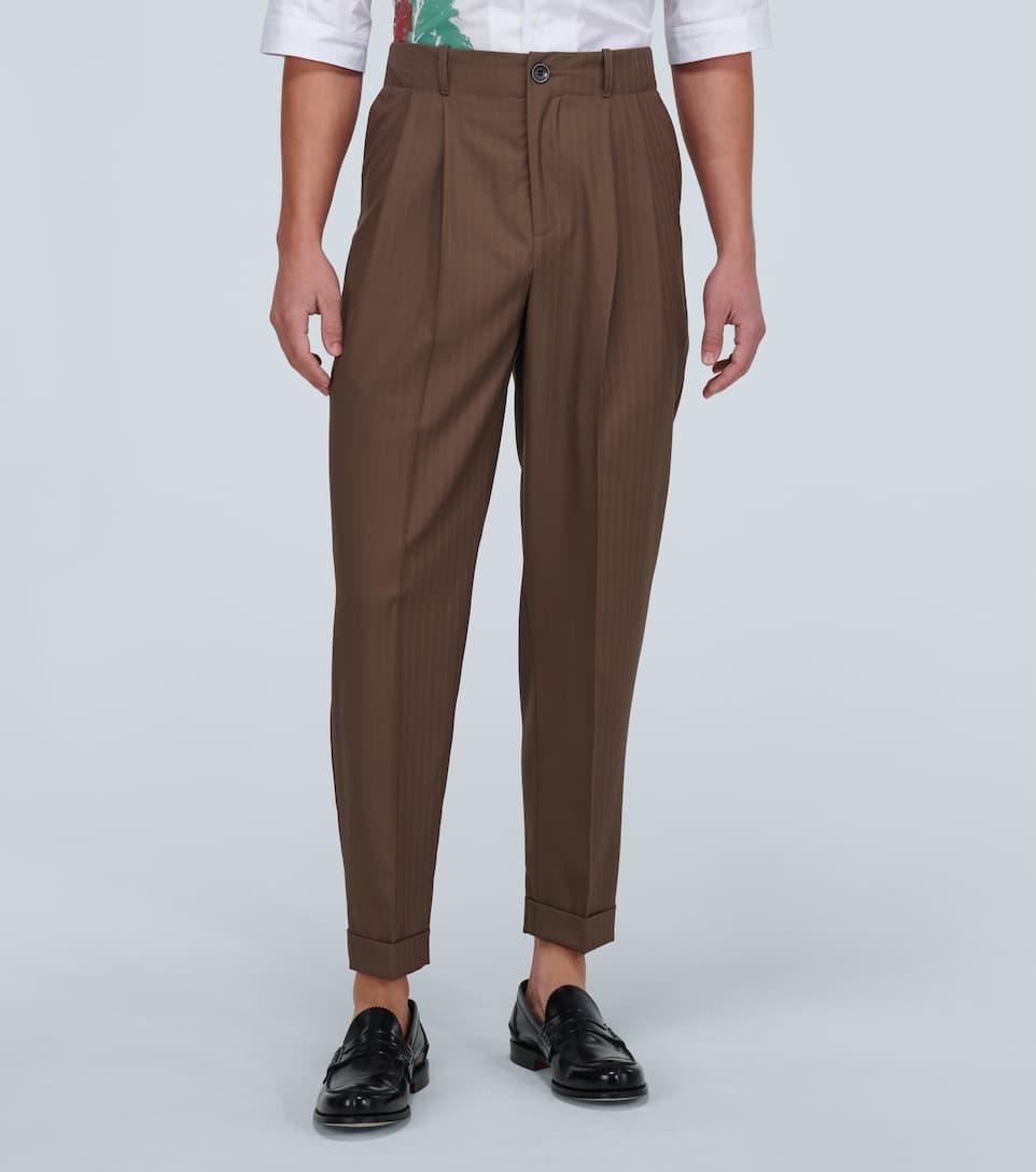 Pantaloni Charles In Lana | Goetze ILU9EAHe
