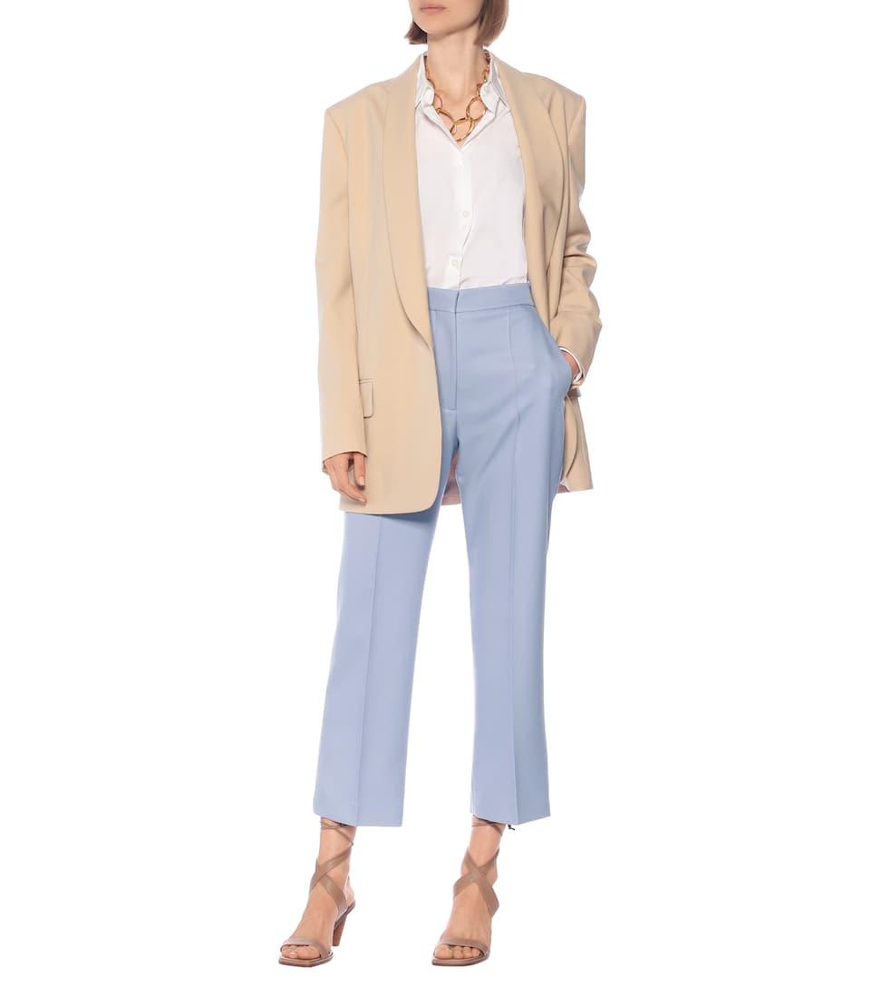 High-rise Straight-leg Pants Stella Mccartney