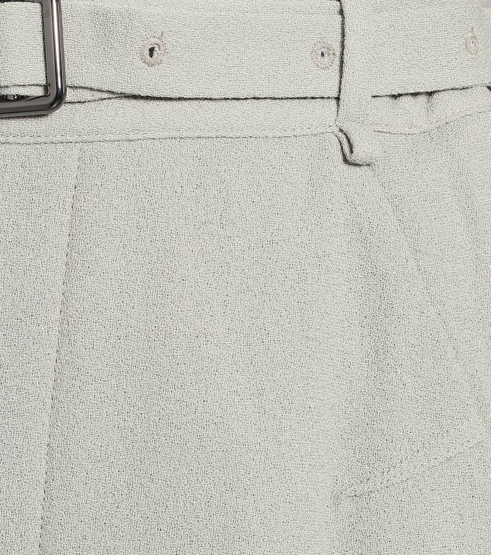 Roland Mouret - Askern High-rise Wool Wide-leg Pants Big Discount