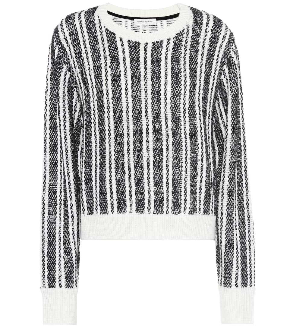 Genuine For Sale Clearance With Paypal Nabila wool-blend striped sweater Public School Outlet Amazing Price Discount From China Free Shipping Best Place HKa1a