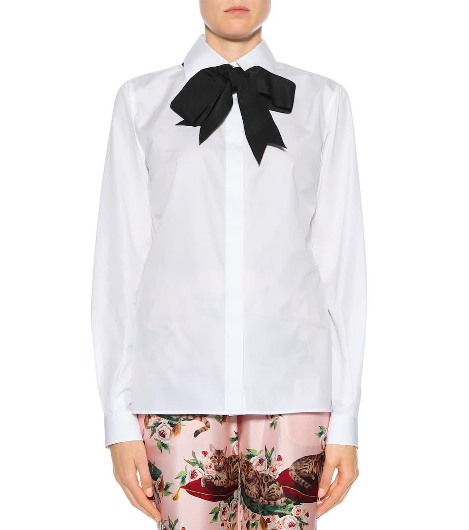 Dolce & Gabbana Bluse mit Schleife
