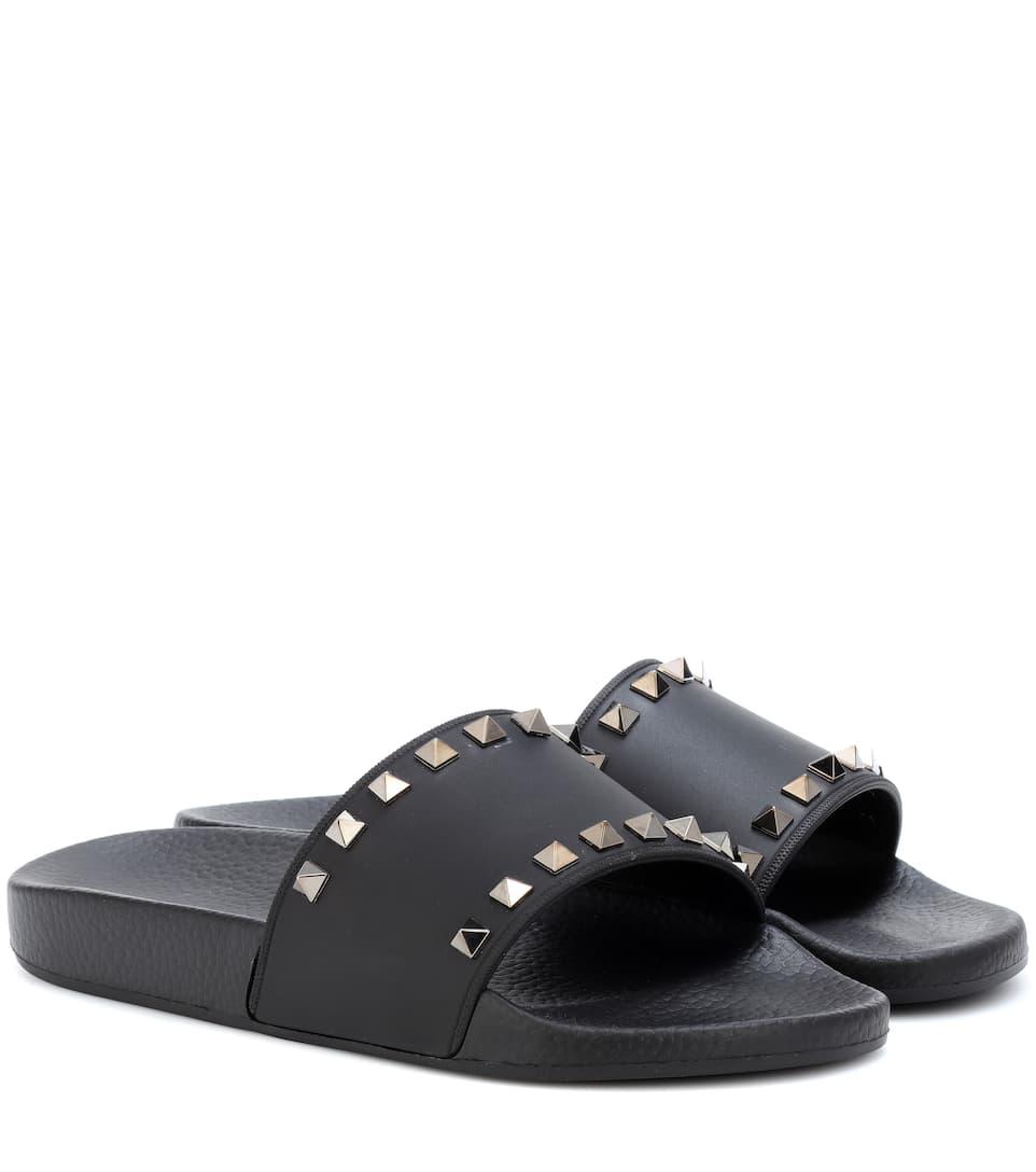 Valentino Valentino Garavani Rockstud Pantoletten Wirklich Billige Schuhe Online Freies Verschiffen Erstaunlicher Preis Freies Verschiffen Niedrigsten Preis bElt3gWU