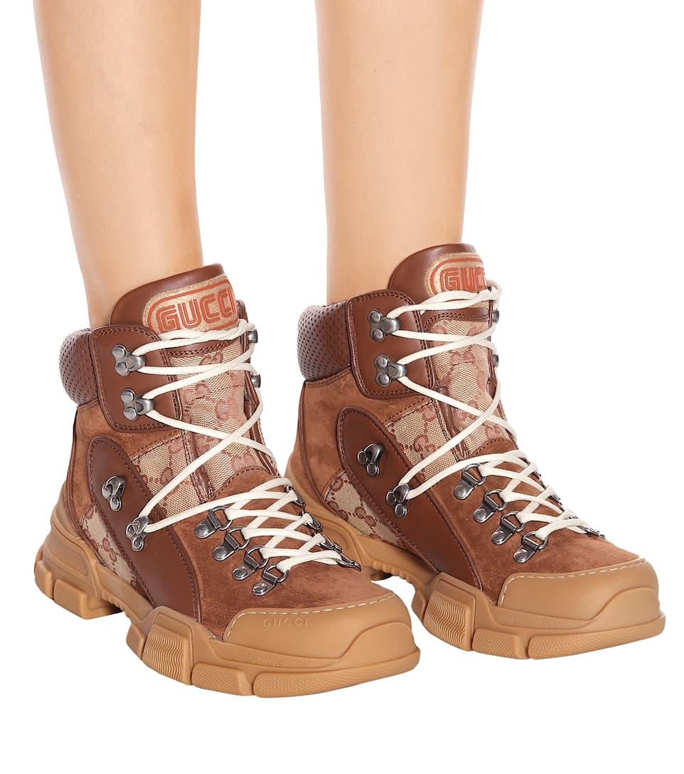 58b626b8d94 Flashtrek Gg High-Top Sneakers - Gucci