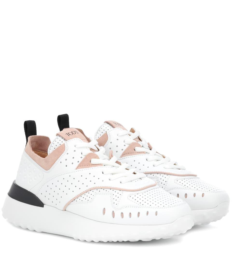Sneakers In Pelle by Tod's