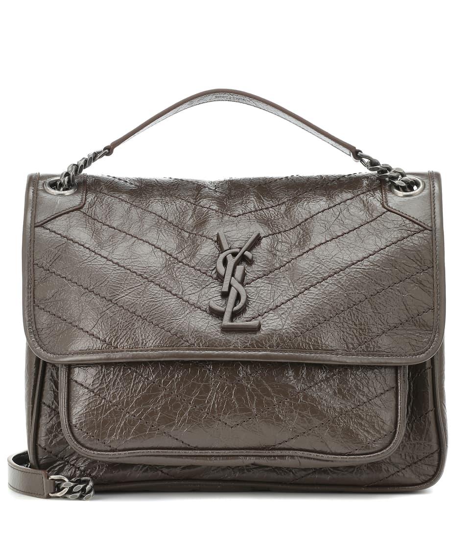 Medium Niki Leather Shoulder Bag - Saint Laurent  1d207b77a74a3