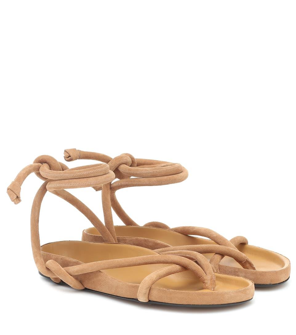 Lastro Suede Sandals | Isabel Marant