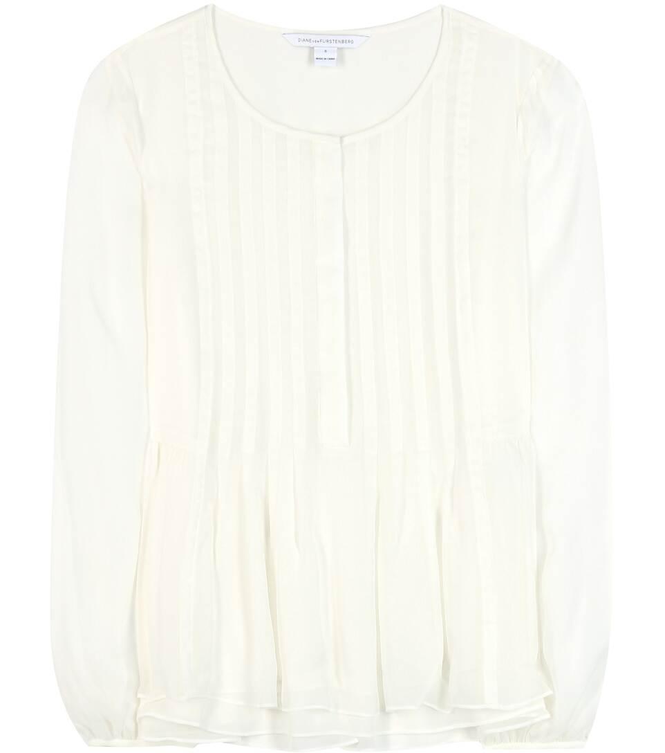 Diane von Furstenberg Jayne silk blouse