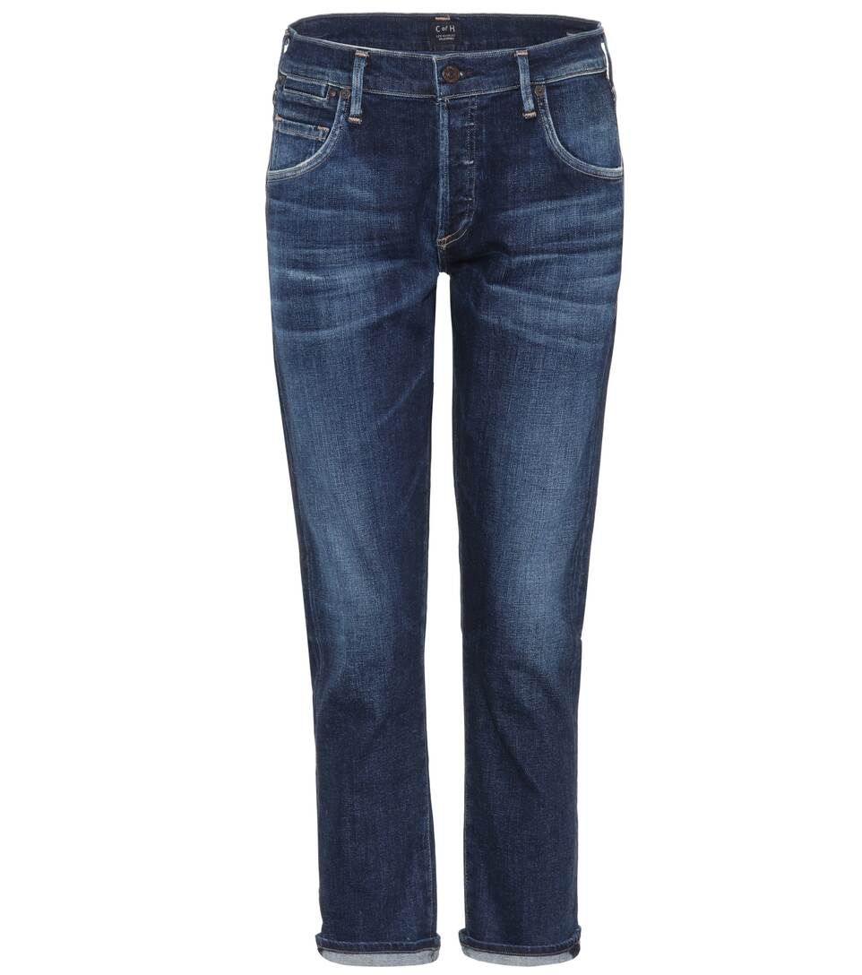 Citizens of Humanity Cropped Boyfriend-Jeans Emerson
