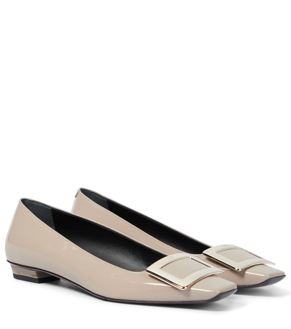 Belle Vivier Leather Ballerinas Roger Vivier lmYhN