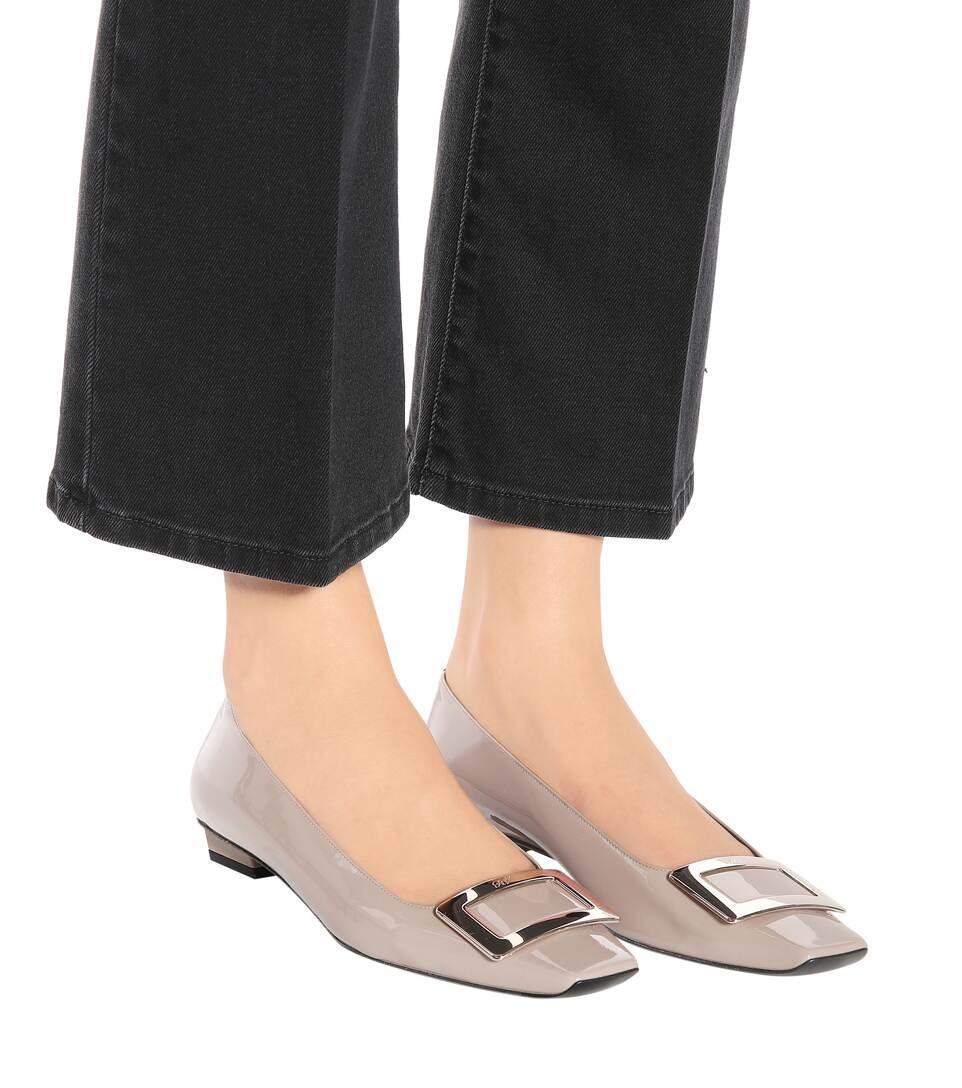 Roger Vivier Ballerinas Belle Vivier Of Patent Leather