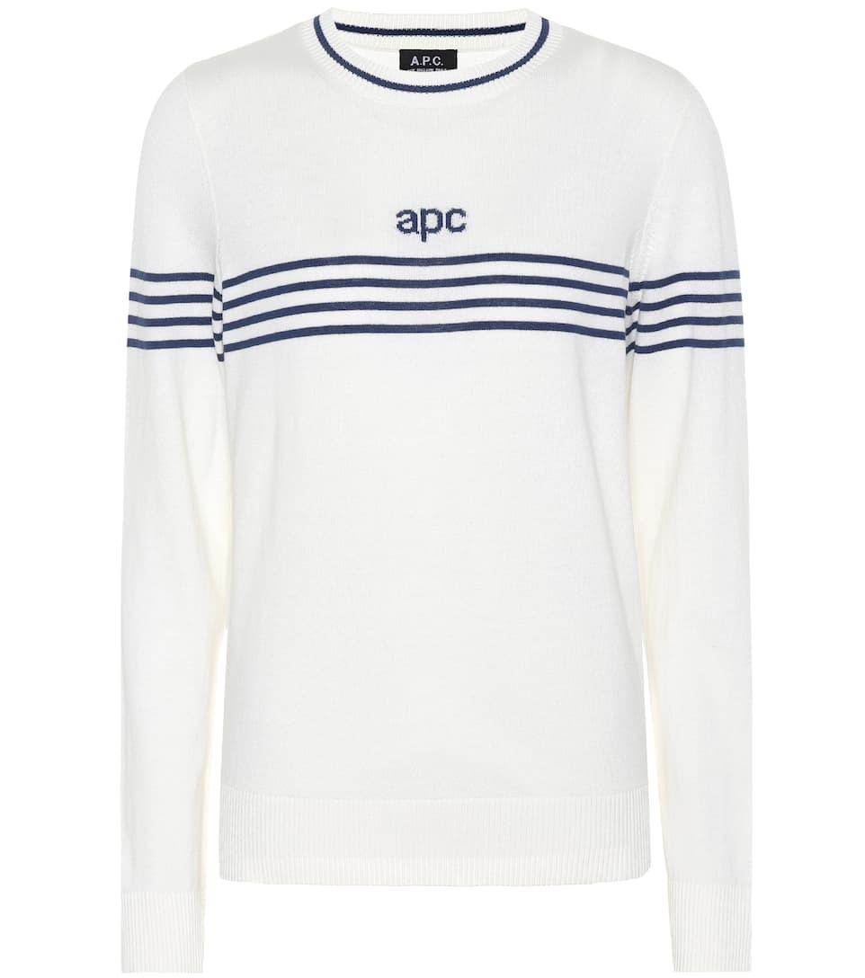 A.P.C. Pullover aus Stretch-Baumwolle