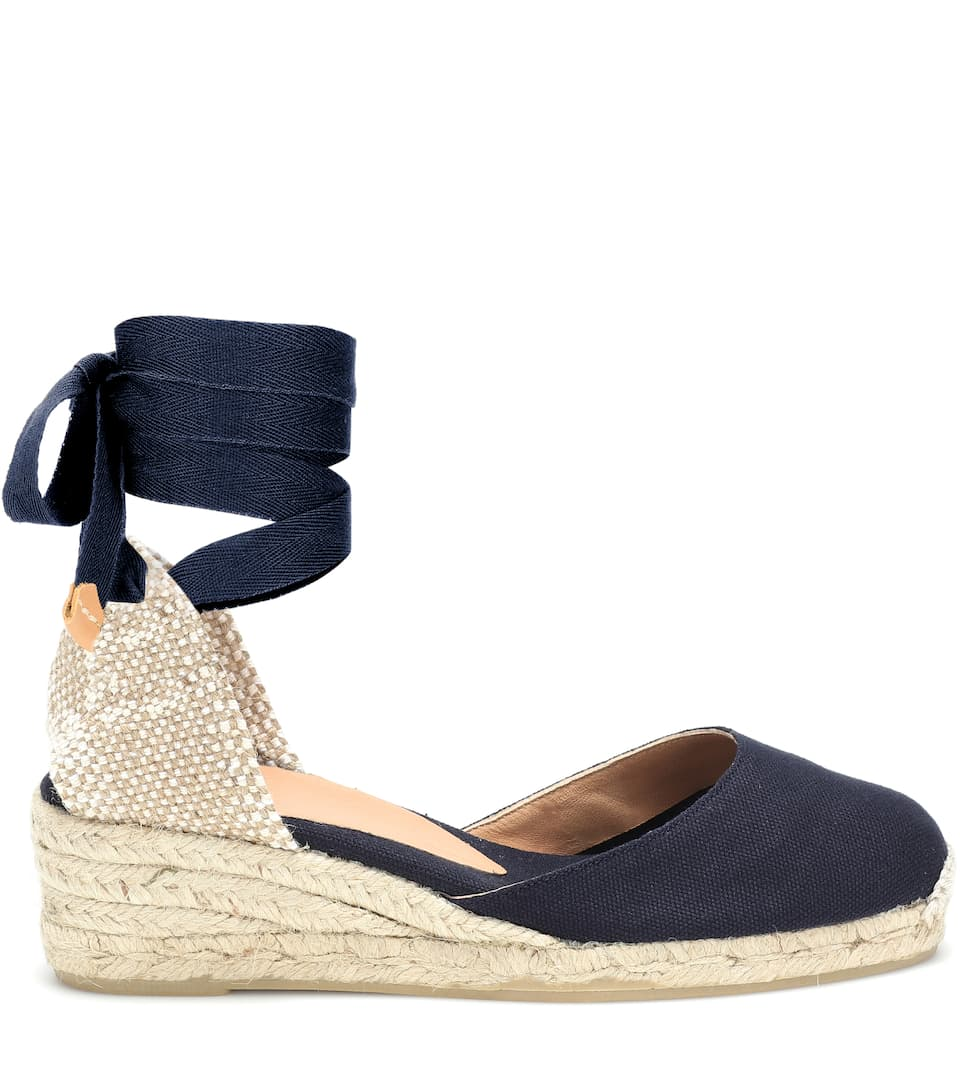 coupon code the best delicate colors Carina low wedge espadrilles