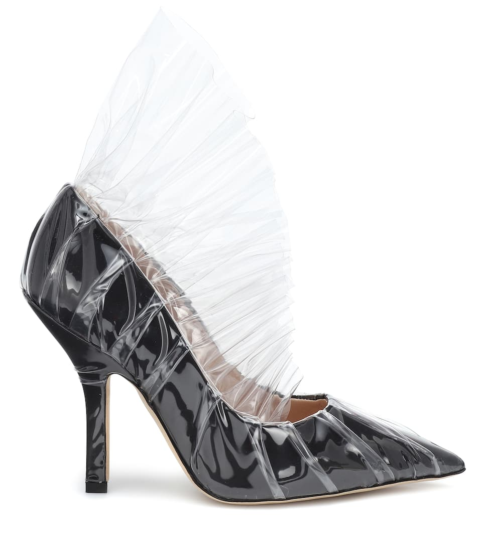 Pumps In Satin E Midnight 00 Pvc R54jAL