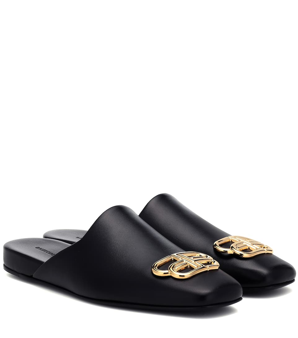 info for new style fast delivery BB Cosy leather mules
