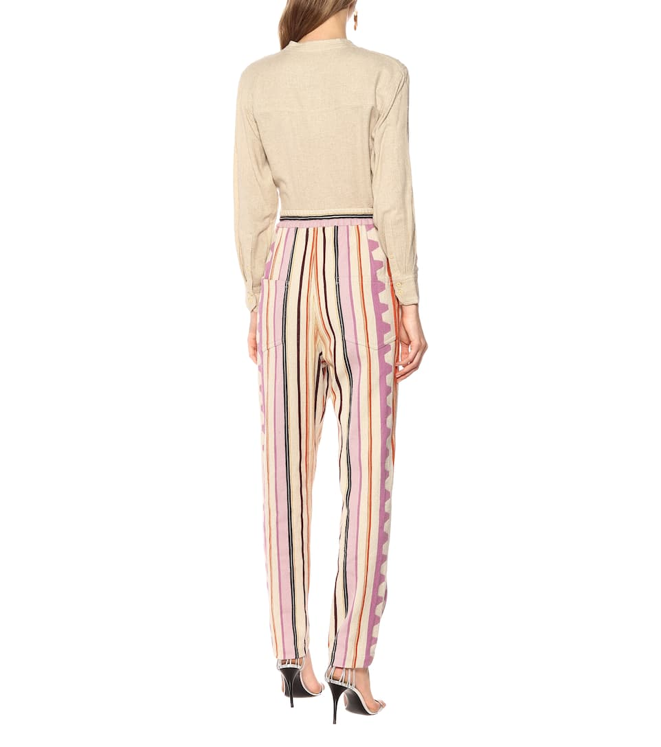 Powlandi Cotton-Blend Pants - Isabel Marant