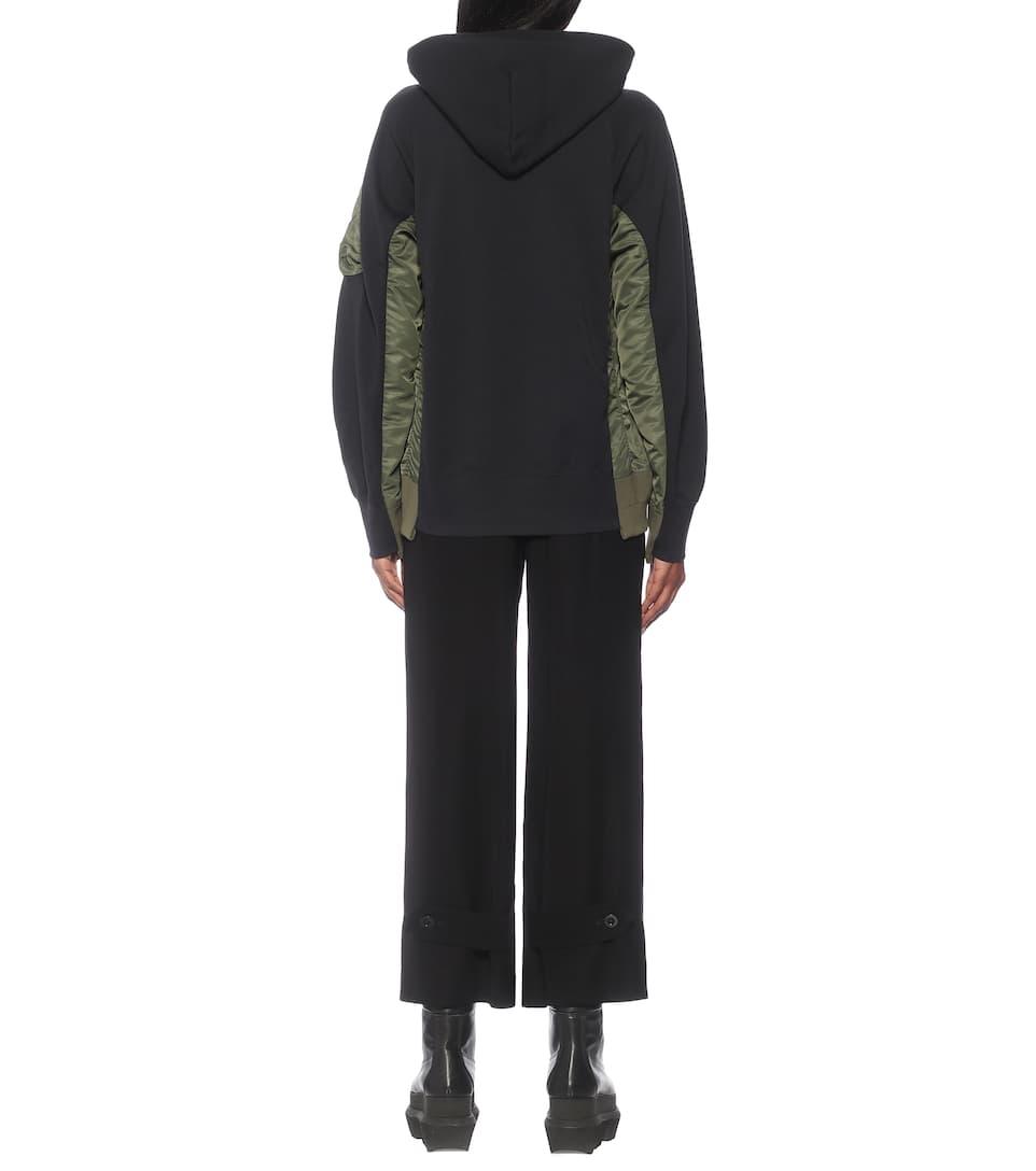 Nike Cotton blend hoodie | Mytheresa