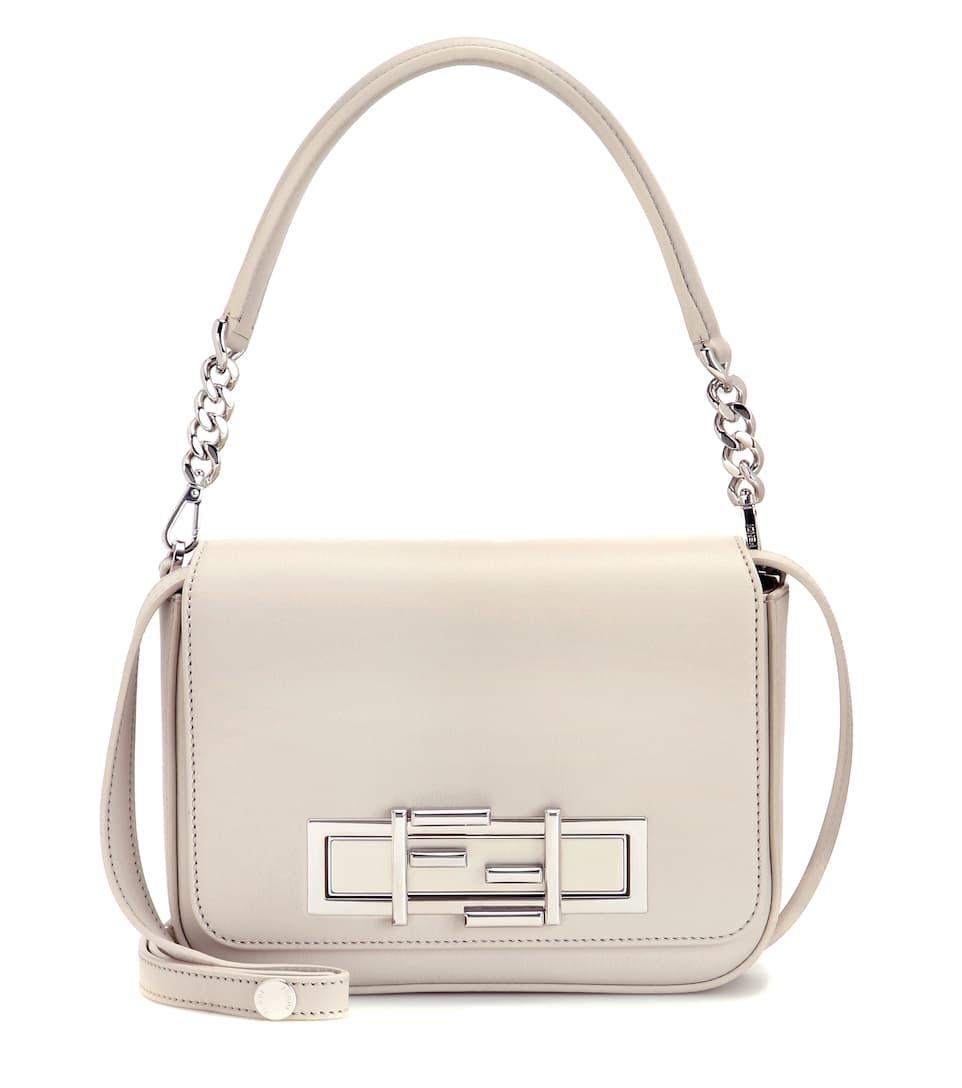 Fendi 3Baguette leather shoulder bag