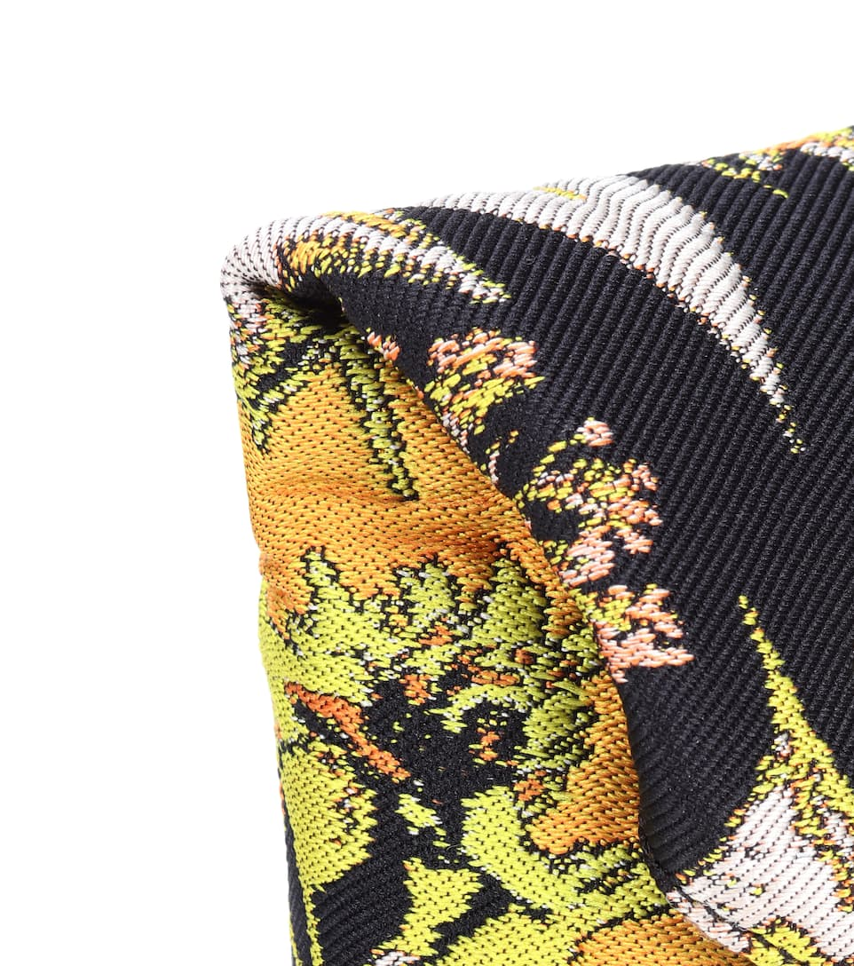 Dries Van Noten Clutch aus Jacquard