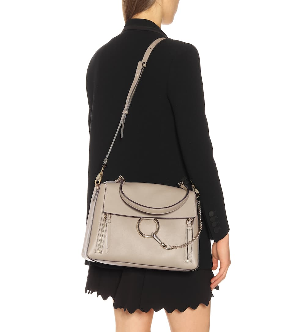 58171adc7d Medium Faye Day leather shoulder bag. Chloé