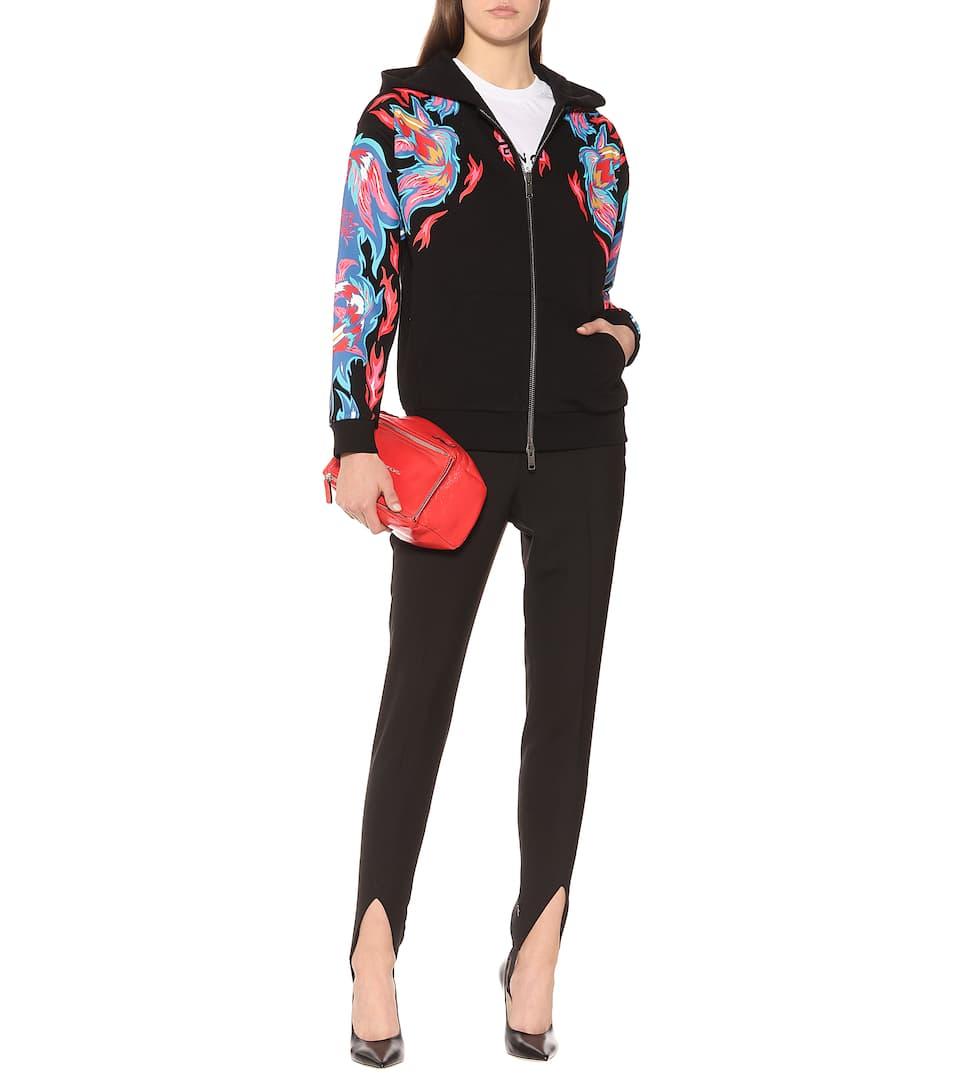 d4a2bf0564 Dragon-Printed Cotton Hoodie - Givenchy | mytheresa