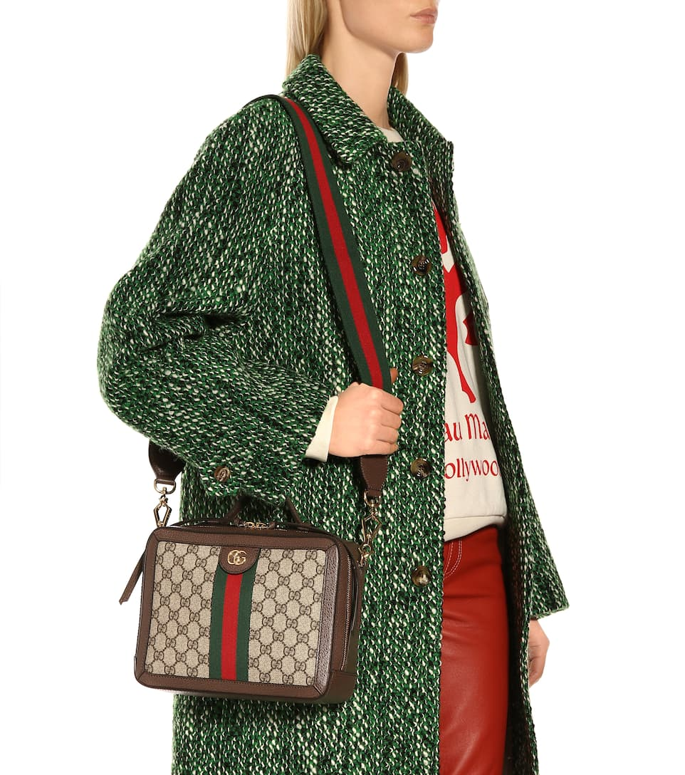 12c48760b2f182 Ophidia Small Gg Supreme Shoulder Bag - Gucci | mytheresa.com