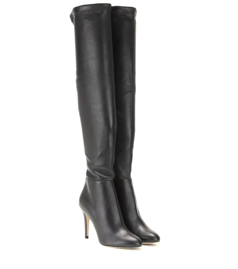 259d6df40d Jimmy Choo - Toni leather over-the-knee boots | Mytheresa