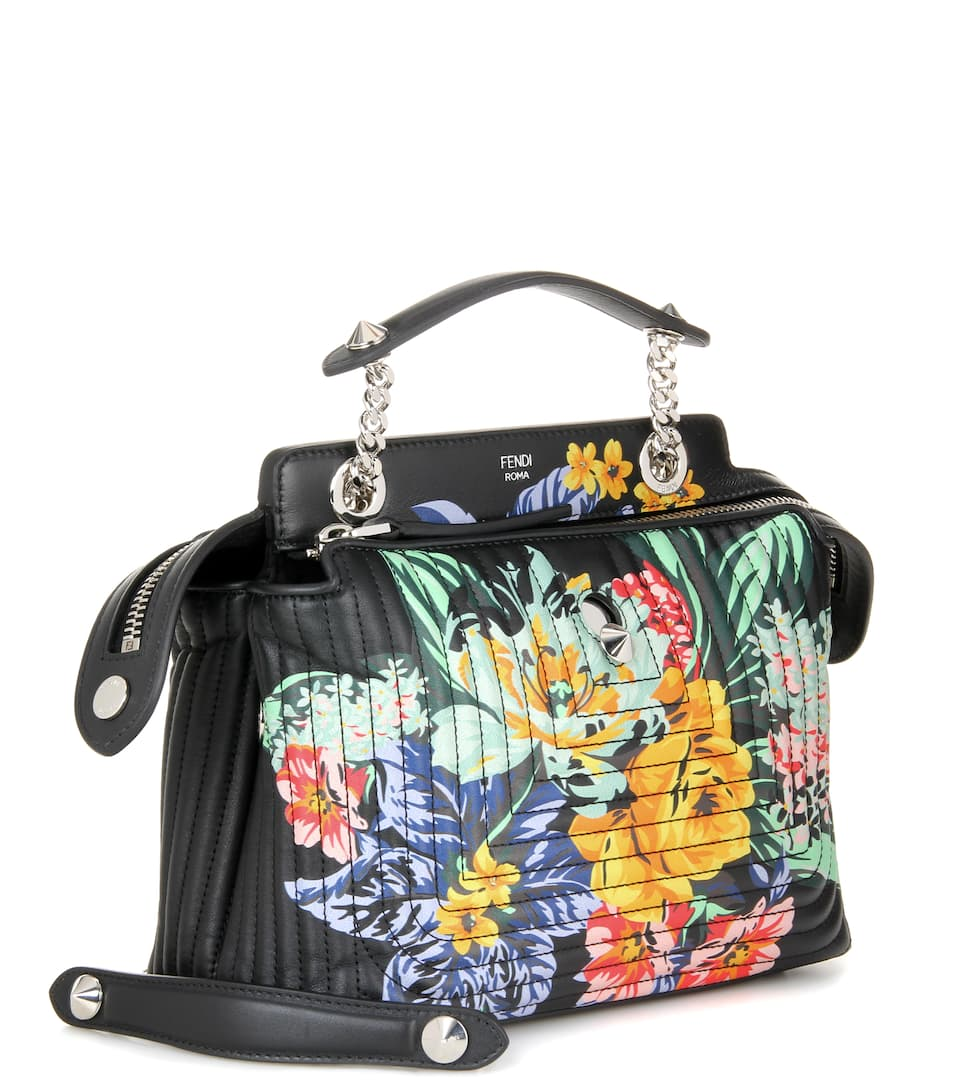 971ebc8c3d Fendi - DotCom Click printed leather shoulder bag