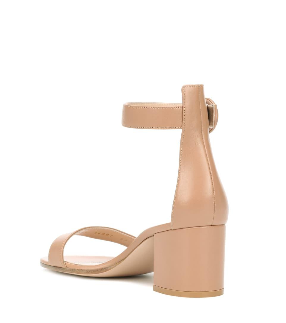 Bilder Günstiger Preis Kaufen Billig Gianvito Rossi Exklusiv bei mytheresa.com – Sandaletten Versilia 60 aus Leder JAr69h2fKd