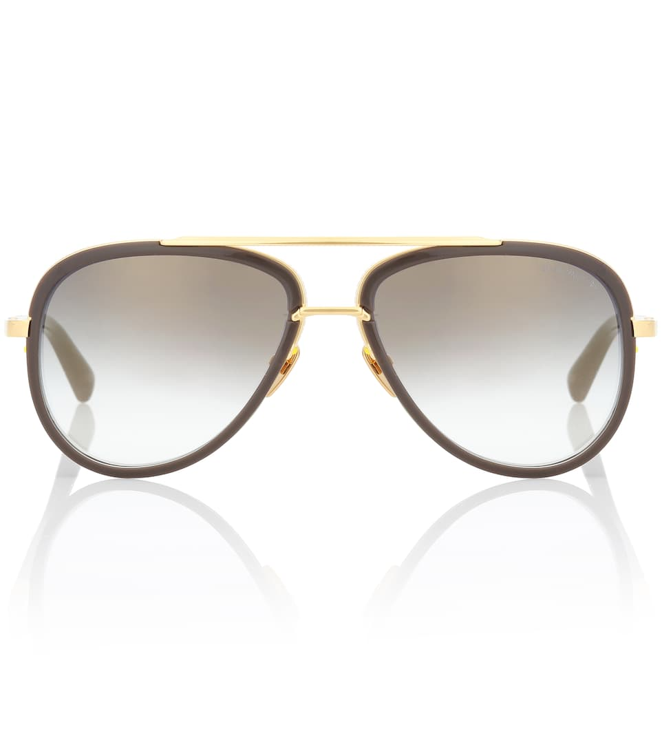 afbc09419a99 Mach Two 18Kt Gold-Plated Sunglasses