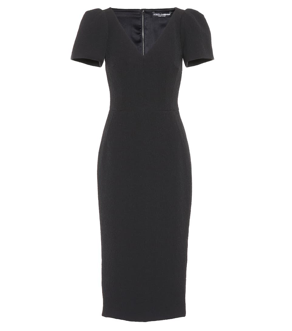 Ropa - Dolce & Gabbana Vestido en mezcla de algodón bermudaP00302749 BFOONEM