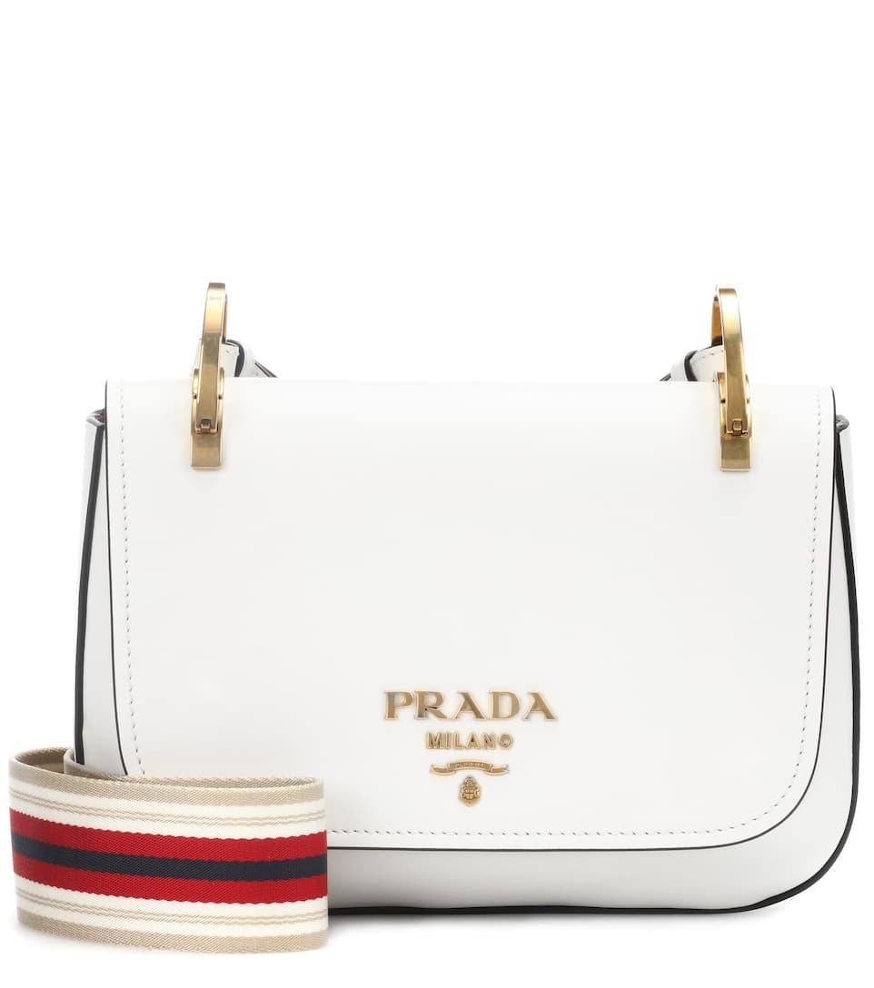 Prada - Sac cross-body en cuir Magasin De Sortie De Qualité rTtX0
