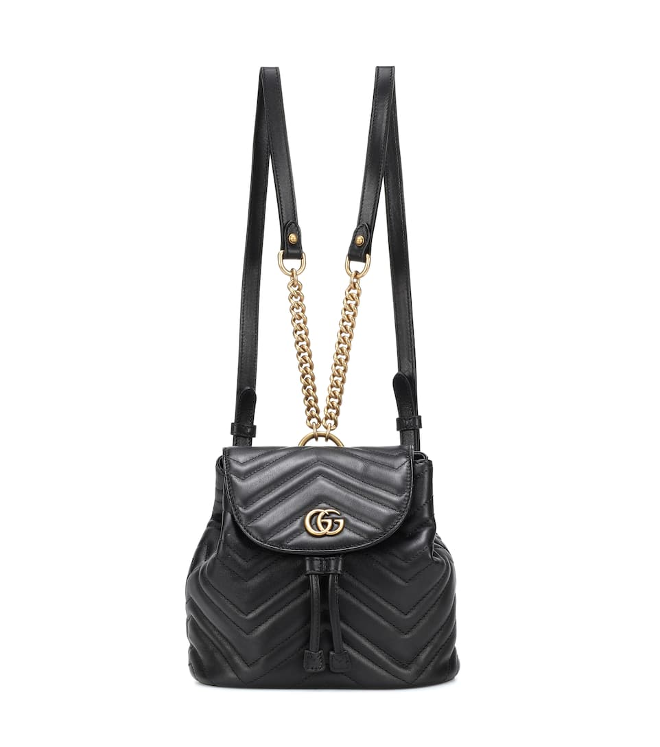 794407fac4f Matelassé Leather Backpack - Gucci
