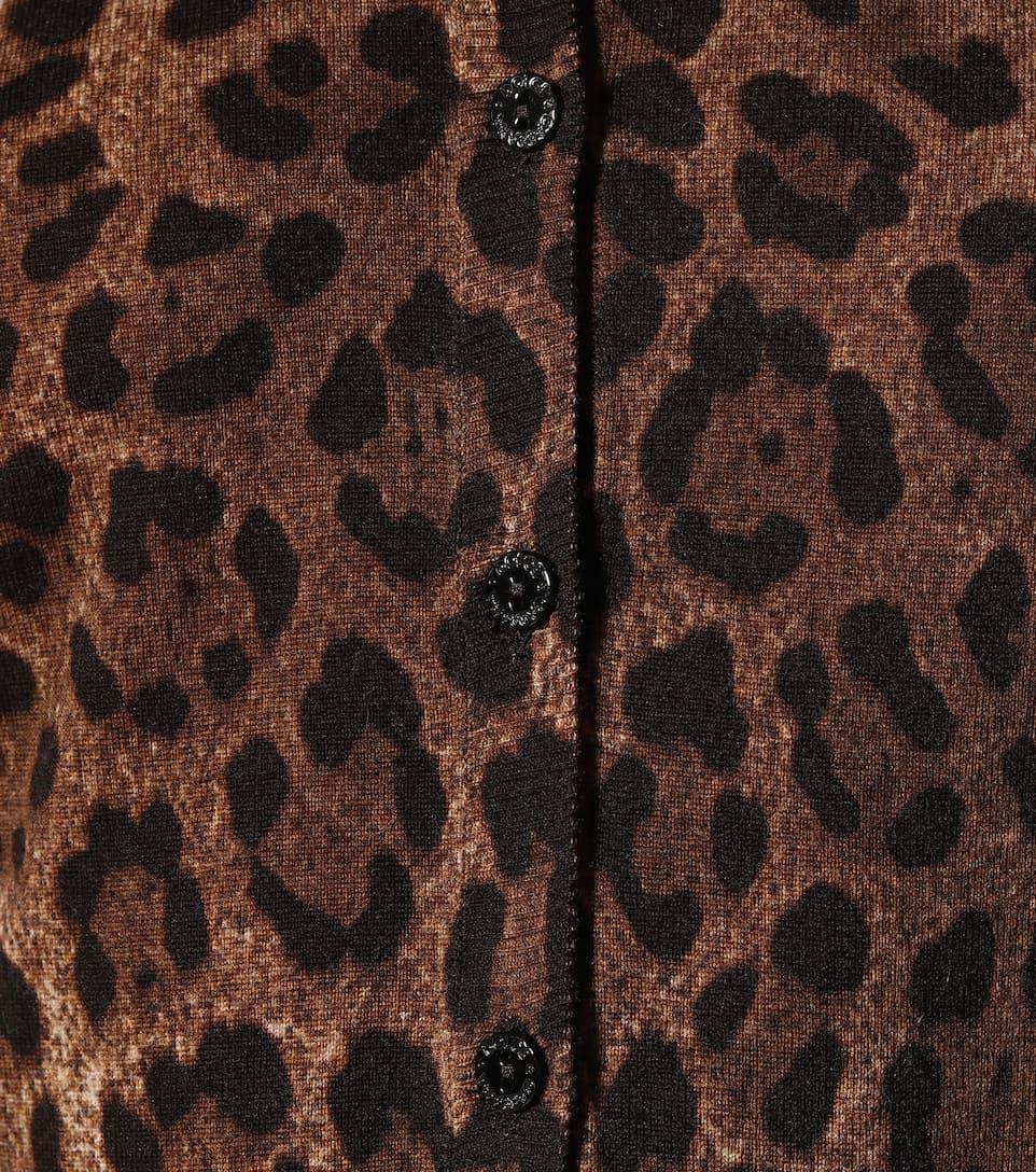 En Cardigan LaineDolceamp; Artnbsp;p00400880 Gabbana Imprimé N° wX0PO8kn
